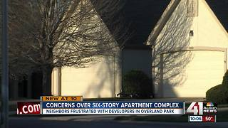 OP residents fighting 6-story apartment project - Video