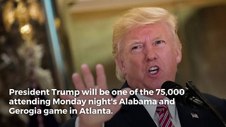 Atlanta Police Preparing For Trump's Visit To NCAA National Title Game - Video