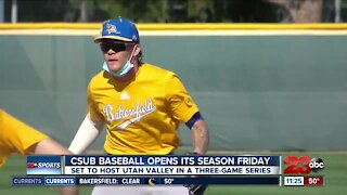 23ABC Sports: CSUB Baseball prepares to open season, while CSUB Basketball prepares for regular season finale