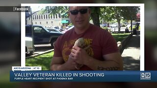 Valley veteran killed in shooting