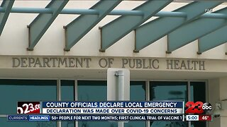 County officials declare a local emergency over COVID-19 concerns