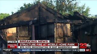 BFD fire fighter injured in early morning fire Sunday