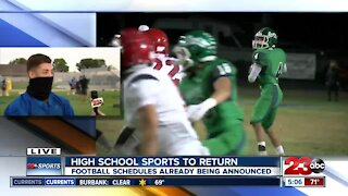 High School Sports to Return: Football schedules already being announced