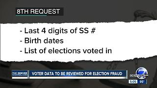 Colorado secretary of state will send voter roll info allowable under state law to feds - Video
