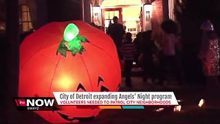 City of Detroit expanding Angels' Night program - Video