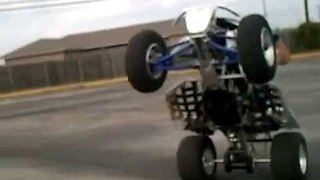 Adventurous Dude Pulls Crazy Quad Bike Stunts and Tricks - Video