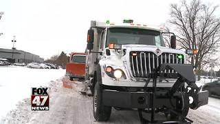 How to stay safe near snow plow trucks - Video