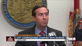 City commissioner charged with murder after shooting shoplifter
