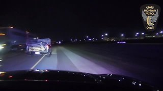 Trooper stops wrong-way driver