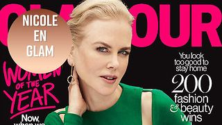 Nicole Kidman gets candid with GLAMOUR - Video