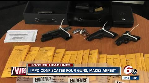 Guns, pot & spice found in home of man with