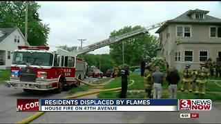 House fire on 47th avenue - Video