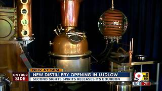For the first time in nearly 100 years, bourbon is being distilled in Kenton County - Video