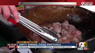 Dirty Dining 2018: How city sanitarians protect food fest diners - Video