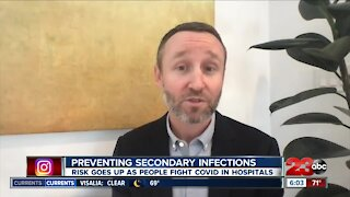 Preventing secondary infections