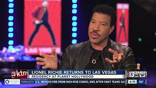 Lionel Richie begins new shows in Las Vegas - Video
