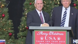 Trump/Pence Thank You Tour - Video