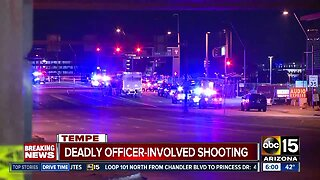 Deadly officer-involved shooting near Tempe Town Lake