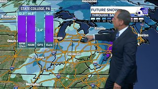 Snowy Travel Possible Next Week