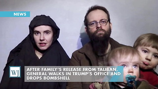 After Family's Release From Taliban, General Walks In Trump's Office And Drops Bombshell - Video