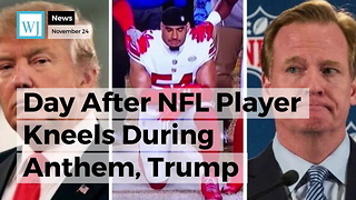 Day After NFL Player Kneels During Anthem, Trump Sends Roger Goodell a Message He Can't Ignore - Video