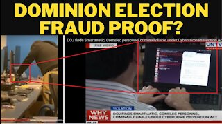 Dominion Voting Systems Employee CAUGHT Possibly Switching Votes!