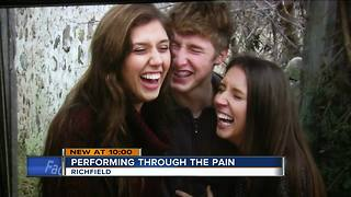 Richfield 'The Voice' contestant sings to overcome her brother's death - Video