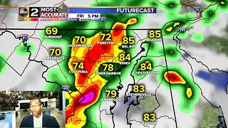 Maryland Storm Chances Remain - Video