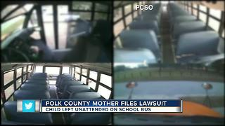 Mom sues district, school board after son left on bus twice - Video