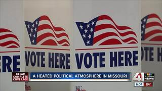 A heated political atmosphere in Missouri