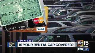 Is your rental car covered with insurance?