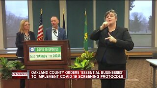 Oakland County implements tighter restrictions for businesses remaining open