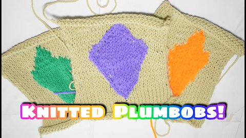 How to Knit the Plumbob Patch