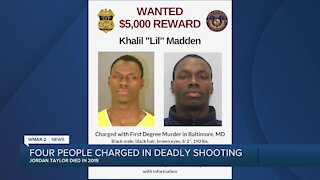 Four people charged in deadly shooting
