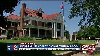 Frank Phillips home to change ownership soon - Video