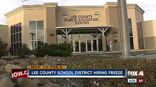 Lee County School District hiring freeze - Video