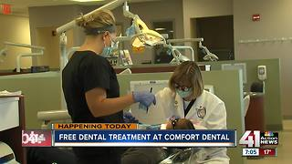 Comfot Dental offers free care - Video