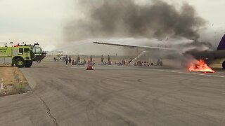 Boise Airport holds disaster training exercise with first responders