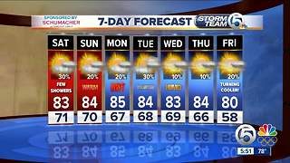 Friday night forecast - Video