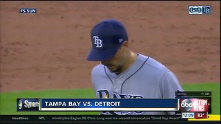 Charlie Morton's unbeaten streak at 20 after Tampa Bay Rays blank Detroit Tigers 4-0