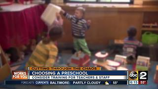 Choosing the right preschool for your child - Video