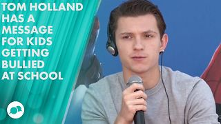 Tom Holland: 'I got bullied pretty badly' - Video