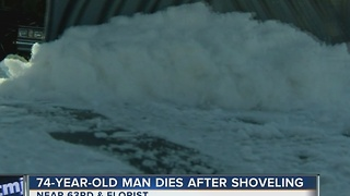 Two Milwaukee Men Die While Shoveling Snow - Video