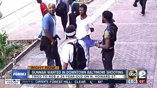Video captures suspect in Howard Street shooting - Video