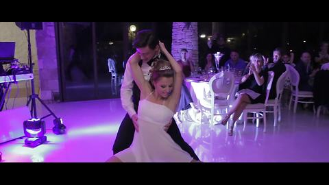 Couple's First Dance Is An Epitome Of Their Love