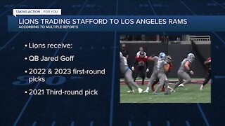 Reports: Lions trading Matthew Stafford to Rams