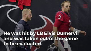 Tom Savage Suffers Massive Hit - Video