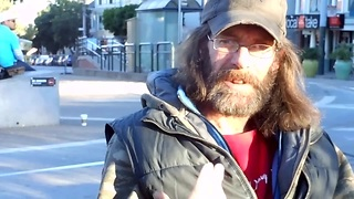 Firsthand perspective of homeless life - Homeless GoPro - Video