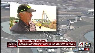 Verruckt designer arrested at DFW Airport - Video