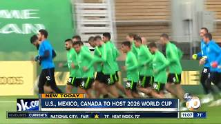 World Cup comes to North American in 2026 - Video